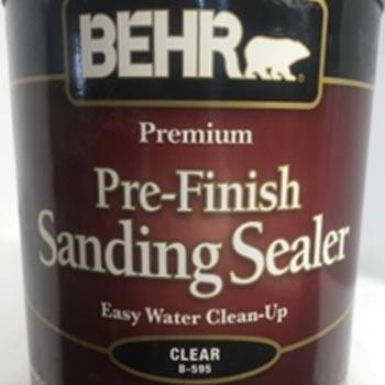 Behr pre-acabado madera sanding sealer