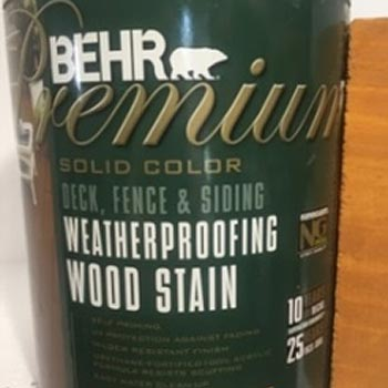 Behr Premium Repelente Agua Wood Stain polyrec