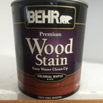 tinta madera wood stain arce polyrec