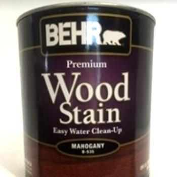 tinta madera wood stain caoba