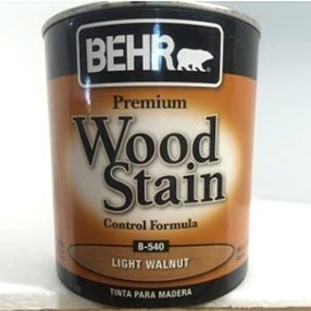tinta madera wood stain nogal claro