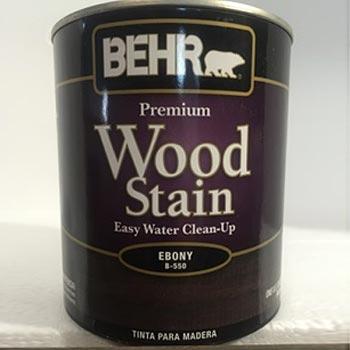 tinta madera wood stain ebano