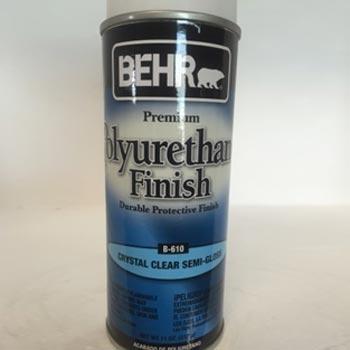barniz poliuretano semi glossy Behr